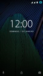 Como reiniciar o aparelho - Motorola Moto G5 - Passo 6