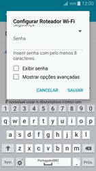 Como usar seu aparelho como um roteador de rede Wi-Fi - Samsung Galaxy A5 - Passo 8