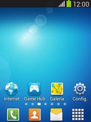 Como configurar seu celular para receber e enviar e-mails - Samsung Galaxy Pocket - Passo 1