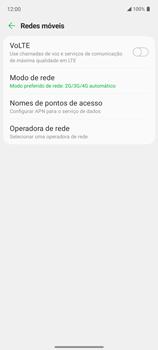 Como conectar à internet - LG K62+ - Passo 11