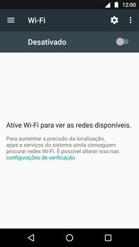 Como configurar uma rede Wi-Fi - Motorola Moto G5s Plus - Passo 4