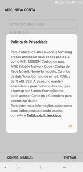 Como configurar seu celular para receber e enviar e-mails - Samsung Galaxy J4+ - Passo 10