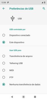 Transferir dados do telefone para o computador (Windows) - Motorola Moto G7 Play - Passo 5
