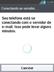 Como configurar seu celular para receber e enviar e-mails - LG Optimus L3 II - Passo 20