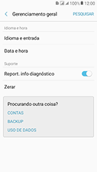 Como restaurar as configurações originais do seu aparelho - Samsung Galaxy J2 Prime - Passo 5