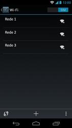 Como configurar uma rede Wi-Fi - Motorola Moto X (1ª Geração) - Passo 7