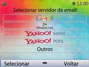 Como configurar seu celular para receber e enviar e-mails - Huawei U6020 - Passo 6