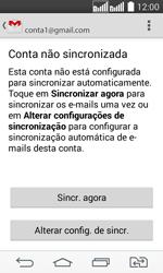 Como configurar seu celular para receber e enviar e-mails - LG G2 Lite - Passo 10