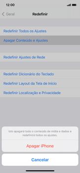 Como restaurar as configurações originais do seu aparelho - Apple iPhone 11 Pro - Passo 6