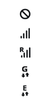 Explicação dos ícones - Samsung Galaxy S10 - Passo 3