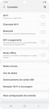 Como configurar uma rede Wi-Fi - Samsung Galaxy S20 Plus 5G - Passo 4