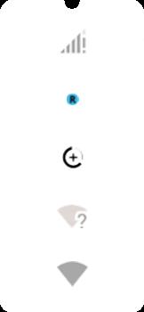 Explicação dos ícones - Motorola Moto E6 Plus - Passo 3