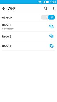 Como configurar uma rede Wi-Fi - Asus ZenFone Go - Passo 7