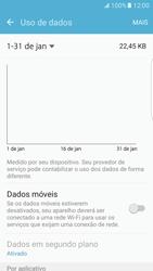 Como ativar e desativar uma rede de dados - Samsung Galaxy S7 Edge - Passo 5