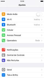 Como ativar e desativar o modo avião no seu aparelho - Apple iPhone 7 - Passo 2