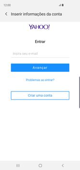 Como configurar seu celular para receber e enviar e-mails - Samsung Galaxy S10 - Passo 7