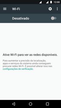 Como configurar uma rede Wi-Fi - Motorola Moto Z2 Play - Passo 4