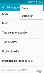 Como configurar a internet do seu aparelho (APN) - Samsung Galaxy J1 - Passo 14