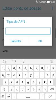 Como configurar a internet do seu aparelho (APN) - Asus Zenfone Selfie - Passo 13