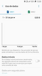 Como ativar e desativar uma rede de dados - Samsung Galaxy J2 Prime - Passo 7