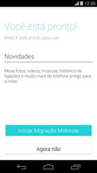 Como configurar pela primeira vez - Motorola Moto X (2ª Geração) - Passo 9