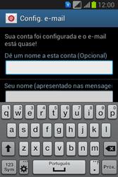 Como configurar seu celular para receber e enviar e-mails - Samsung Galaxy Young - Passo 19