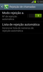 Como bloquear chamadas de um número específico - Samsung Galaxy S III Mini - Passo 7