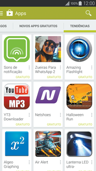 Como baixar aplicativos - Samsung Galaxy Note - Passo 13
