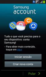 Como configurar pela primeira vez - Samsung Galaxy Win - Passo 5