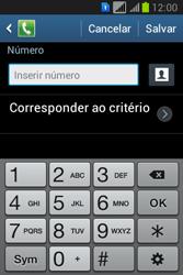 Como bloquear chamadas de um número específico - Samsung Galaxy Young - Passo 9