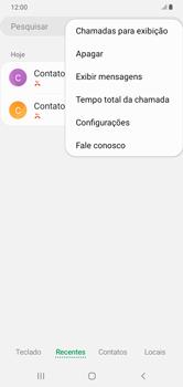 Como bloquear chamadas de um número específico - Samsung Galaxy A10 - Passo 6