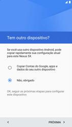 Como ativar seu aparelho - LG Google Nexus 5X - Passo 8