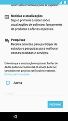 Como ativar seu aparelho - Motorola Moto X4 - Passo 17