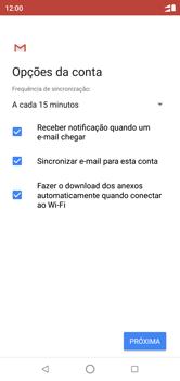 Como configurar seu celular para receber e enviar e-mails - Motorola One - Passo 10