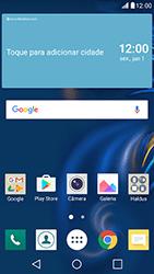 Como configurar seu celular para receber e enviar e-mails - LG K10 - Passo 1