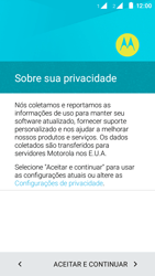 Como configurar pela primeira vez - Motorola Moto E (2ª Geração) - Passo 10
