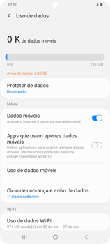 Como conectar à internet - Samsung Galaxy S20 Plus 5G - Passo 7