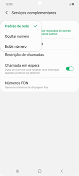 O celular não faz chamadas - Samsung Galaxy Note 20 5G - Passo 18