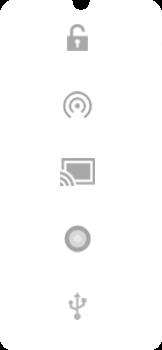 Explicação dos ícones - Motorola Moto E6 Plus - Passo 5