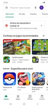 Como baixar aplicativos - Samsung Galaxy Note 20 5G - Passo 4