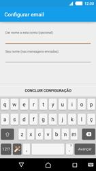 Como configurar seu celular para receber e enviar e-mails - Sony Xperia M4 Aqua - Passo 19