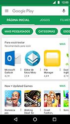 Como baixar aplicativos - Motorola Moto X4 - Passo 4