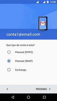 Como configurar seu celular para receber e enviar e-mails - Motorola Moto G (4ª Geração) - Passo 12