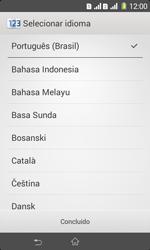 Como ativar seu aparelho - Sony Xperia E1 - Passo 4