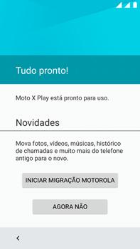 Como configurar pela primeira vez - Motorola Moto X Play - Passo 15