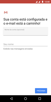 Como configurar seu celular para receber e enviar e-mails - Motorola Moto G6 Play - Passo 12