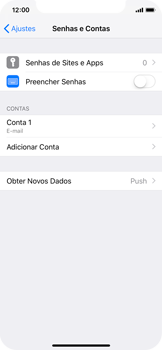 Como configurar seu celular para receber e enviar e-mails - Apple iPhone X - Passo 16