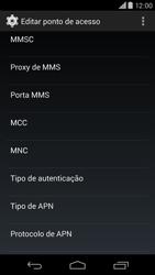 Como configurar a internet do seu aparelho (APN) - Motorola Moto X (2ª Geração) - Passo 10