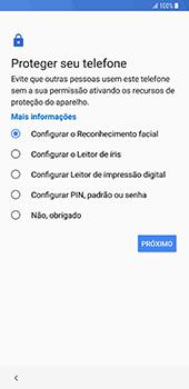 Como configurar pela primeira vez - Samsung Galaxy S9 Plus - Passo 13