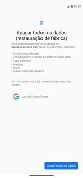 Como restaurar as configurações originais do seu aparelho - Motorola Moto G8 Power - Passo 8